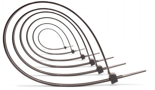 Kabelbinder · schwarz · 100er-Pack | hansewerkzeug